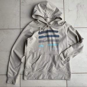 Patagonia organic cotton hoodie sweater stripe